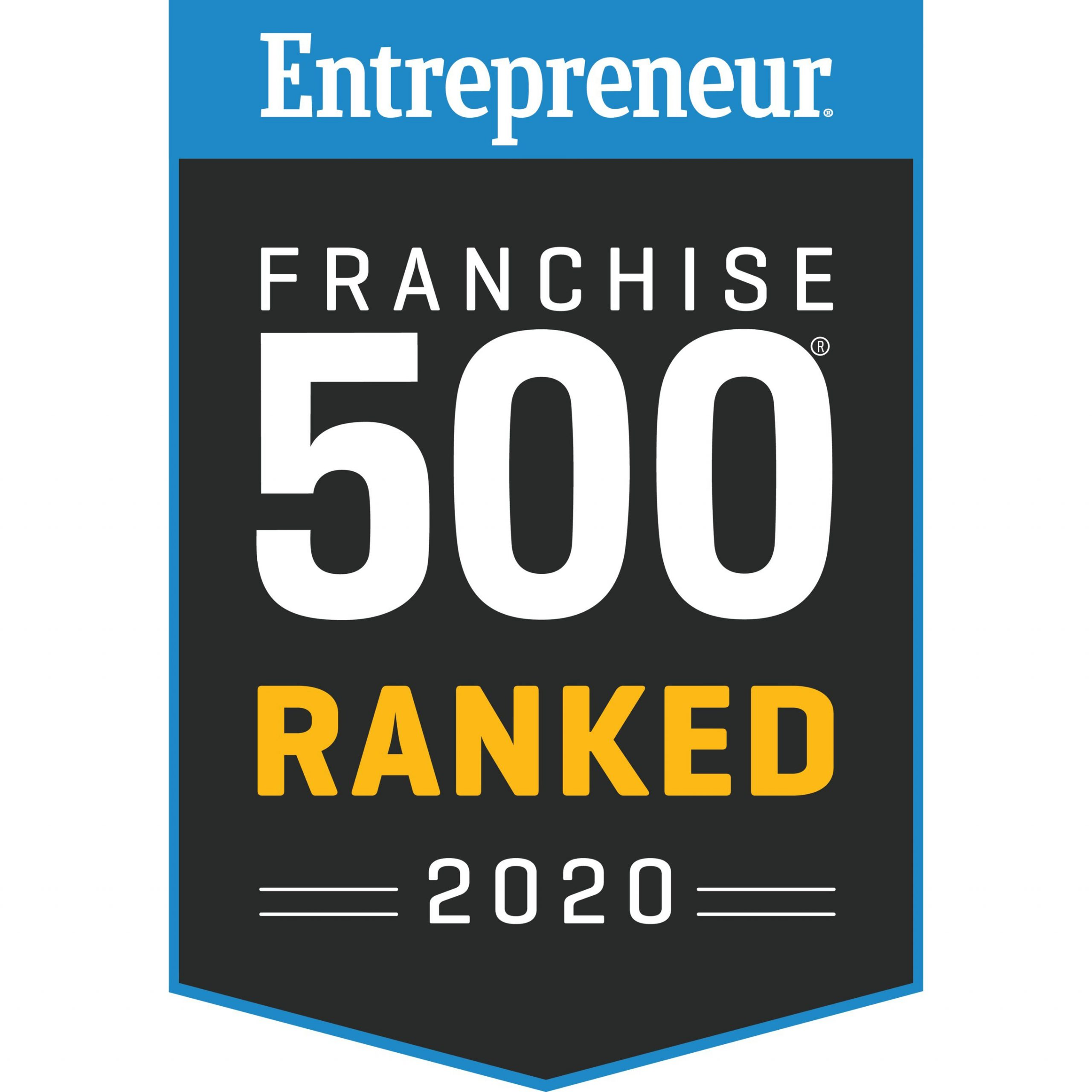 Entrepreneurs Franchise 500